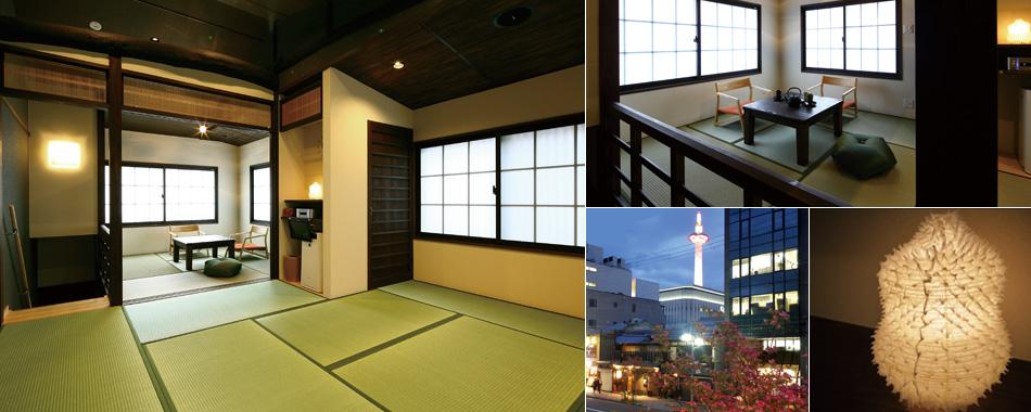 和室と窓からの眺望<